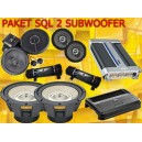 PAKET HIGH END 2 SUBWOOFER